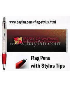 Flag Stylus, 3 in 1, ballpoint pen/calendar/stylus, Custom Printed on both sides of Flag, HSBANNERSTYLUS-17,Free Shipping & No Setup  Charges,4 weeks to your door!