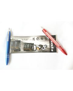metal banner pens,  aluminum metal barrel