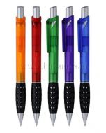 Frosted barrel Promotional Ball Pens,Grip with small heart holes,HSBFA5204,Free Shipping,4 weeks to your door!