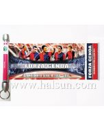 Scroll Banner Key Chain,Free Shipping to Africa, South America, East Euro